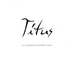 tattoo-design-name-titus-01