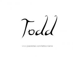 tattoo-design-name-todd-01