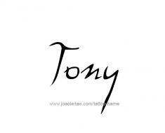 tattoo-design-name-tony-01