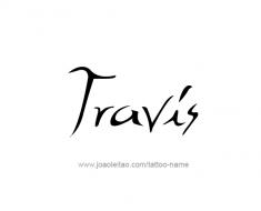 tattoo-design-name-travis-01