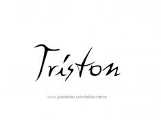 tattoo-design-name-triston-01