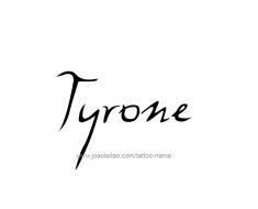 tattoo-design-name-tyrone-01