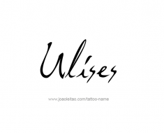 tattoo-design-name-ulises-01