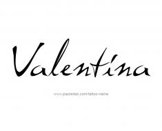 tattoo-design-name-valentina-01