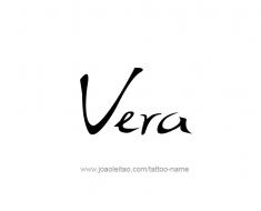 tattoo-design-name-vera-01
