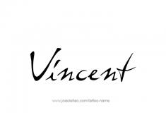 tattoo-design-name-vincent-01