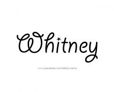 tattoo-design-name-whitney-01