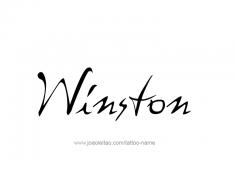 tattoo-design-name-winston-01