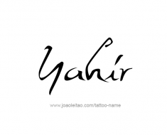 tattoo-design-name-yahir-01