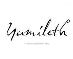 tattoo-design-name-yamileth-01