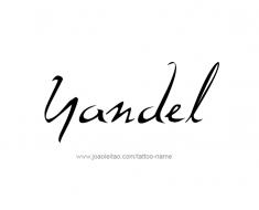 tattoo-design-name-yandel-01