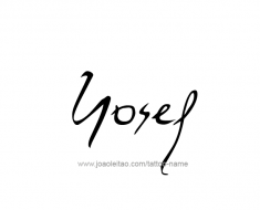 tattoo-design-name-yosef-01