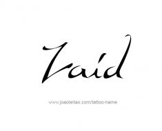 tattoo-design-name-zaid-01