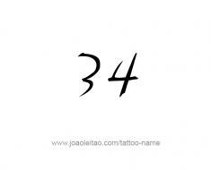 Twenty Three 23 Number Tattoo Designs Page 2 Of 4