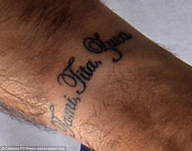 Jose Mourinho Tattoo Idea Wrist Name Tattoo Design With Kids Names