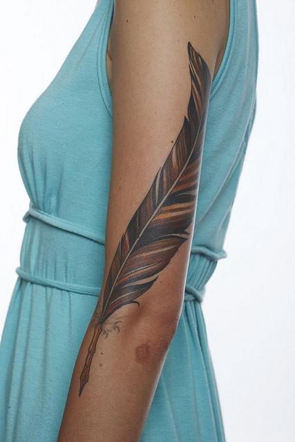 28 Melhores Tatuagens No Braço Para Mulher