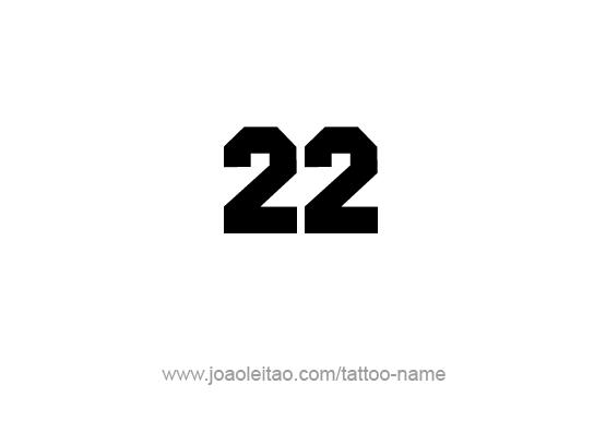 22 numeros: