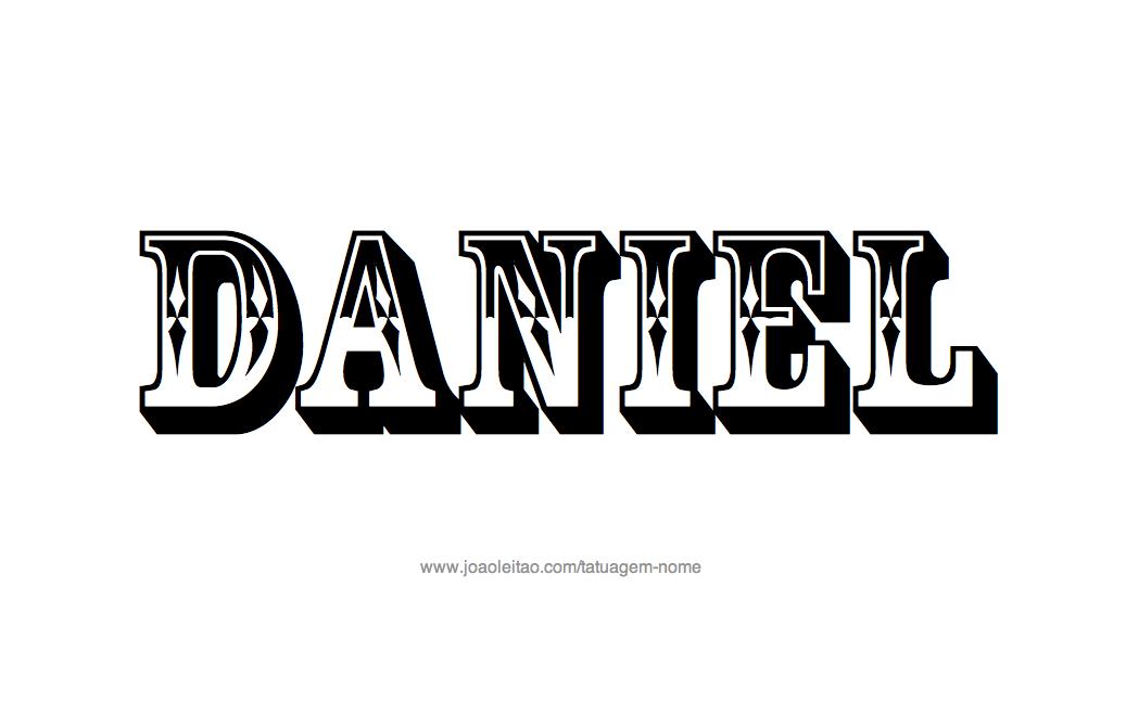 Daniel name wallpaper