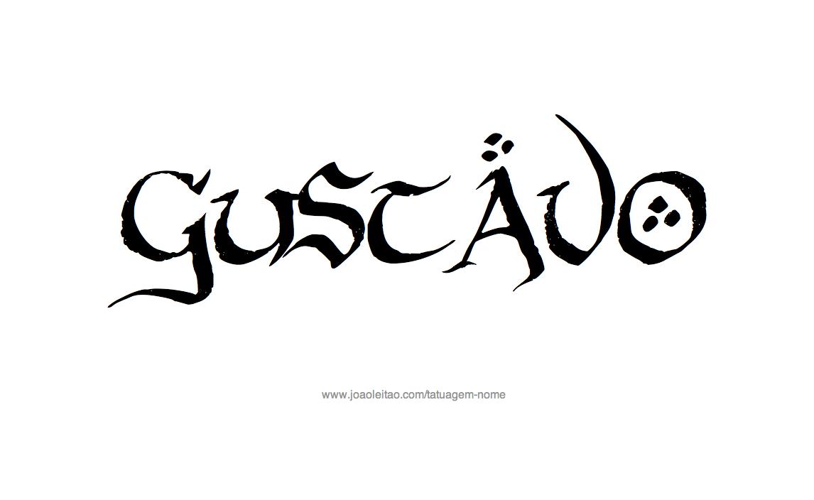 Desenhos de tatuagem com o nome gustavo desenho tatuagem com o nome gustavo thecheapjerseys Image collections
