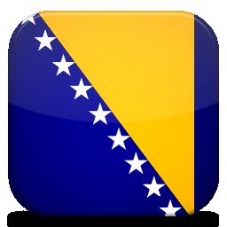Bandeira da Bósnia-Herzegovina