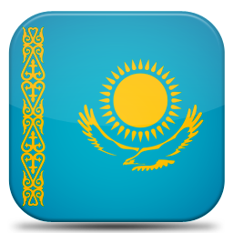 Bandeira Cazaquistao