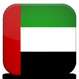 Bandeira dos Emirados Árabes Unidos