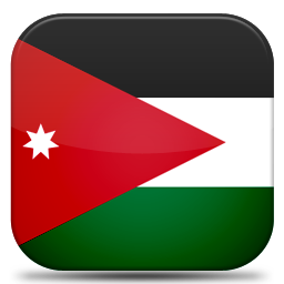 Bandeira Jordania