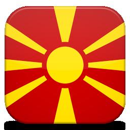 Bandeira Macedonia