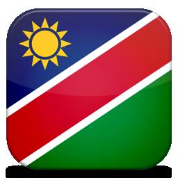Bandeira Namibia