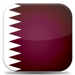 Bandeira Qatar