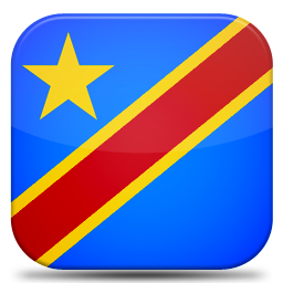 Bandeira Republica Democratica do Congo