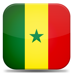 Bandeira Senegal