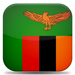 Bandeira Zâmbia