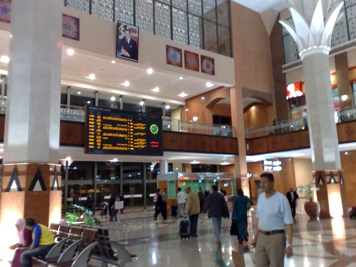 Horarios y precios de los trenes con salida desde Marrakech