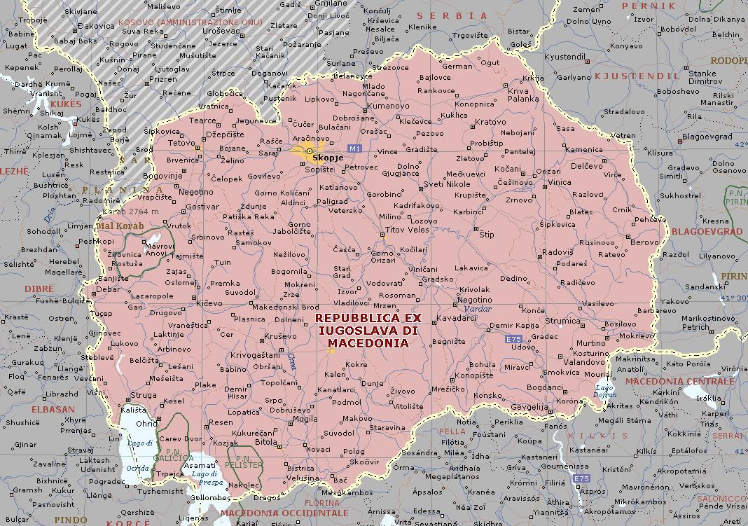 Mapa Grande da Macedónia