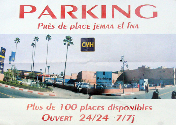 parking marrakech