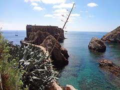 Forte de São João Baptista, la isla de Berlengas, Portugal