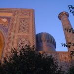 Praça do Registan, Samarcanda Uzbequistão