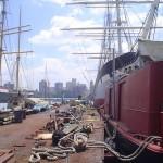 Pier 17, Porto na Baixa Nova Iorque EUA