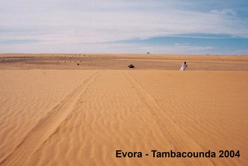 Évora Tambacounda 2004 - Caminho de Bir Moghrein