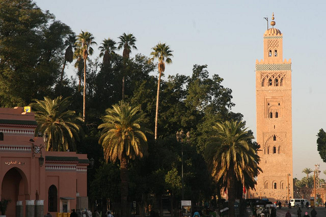 Torre da Koutoubia em Marrakech