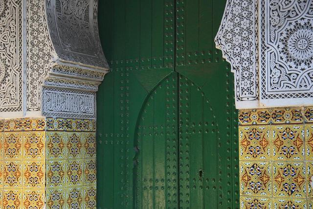 Porta decorada - Roteiros de viagem