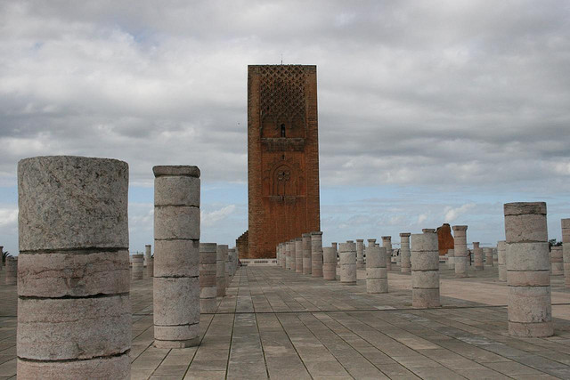 Torre Hassan em Rabat - Cidades Imperiais