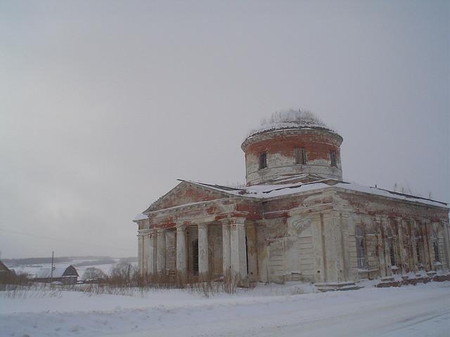 Aldeia de Kabanskoye, Yaroslavskaya Oblast, Rússia