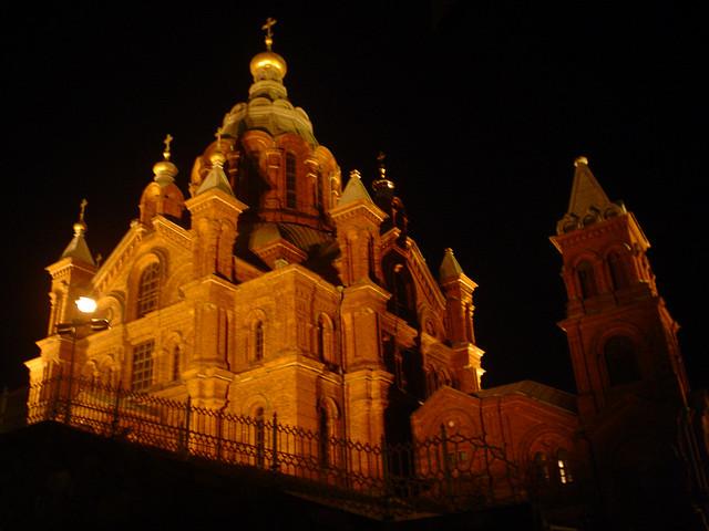 Catedral Uspenski em Helsínquia