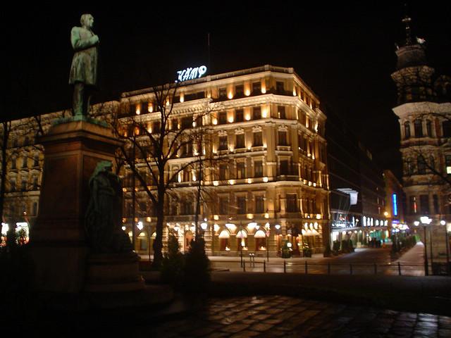 Monumento Pohjoisesplanadi em Helsínquia