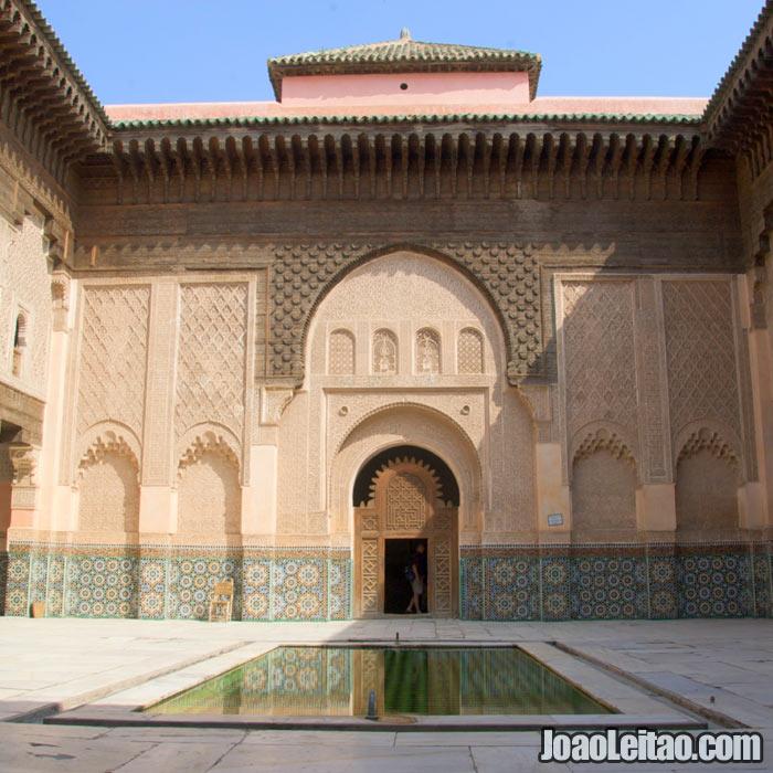Madrassa Ben Youssef em Marrakech