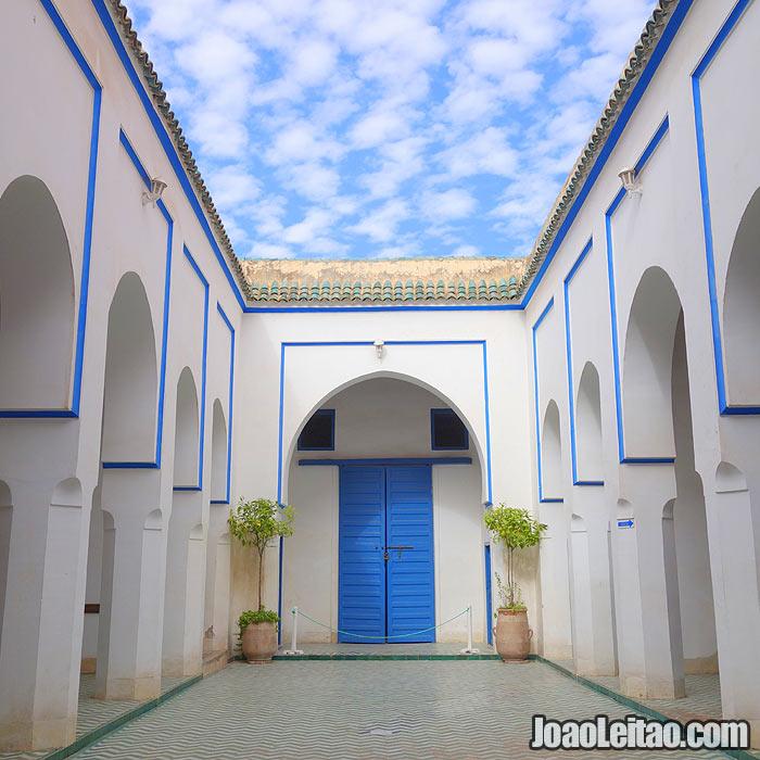 Palácio da Bahia em Marrakech