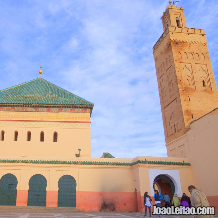 Mausoléu Sidi Bel-Abbes em Marrakech
