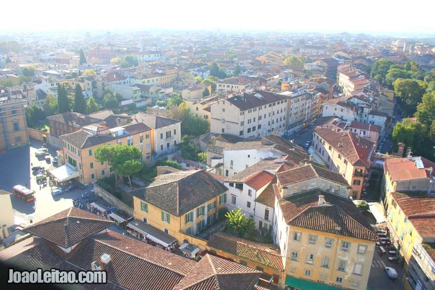 Foto de vista panorâmica de Pisa